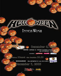 Support to Helloween