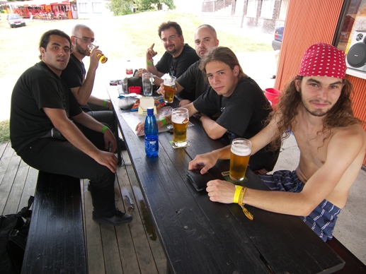 The band with guys from Metal Universe Fest
