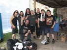 The band with John Cavaliere & Hanny Mohamed from Black Majesty